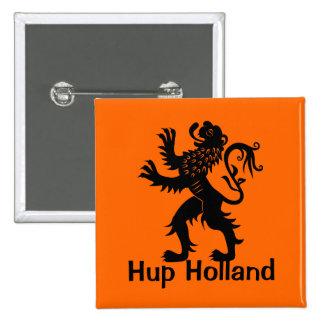 Hup Holland - Holland Lion Pinback Buttons