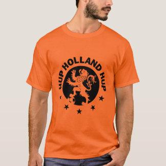 Hup Holland T-Shirt - Black Dutch Soccer Lion!