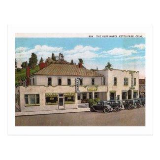 Hupp Hotel, Estes Park Colorado Vintage Postcard