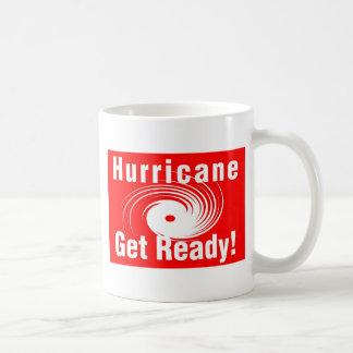 ¡Huracán! ¡Consiga listo! Taza De Café
