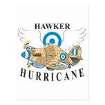 huracán del vendedor ambulante postal