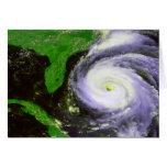 Huracán Fran de la Florida - imagen de 1996 satéli Tarjeton