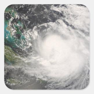 Huracán Hanna sobre las Bahamas Pegatina Cuadrada