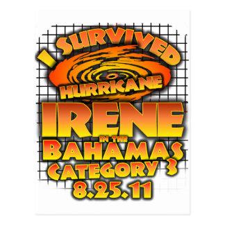 Huracán Irene - Bahamas Postal