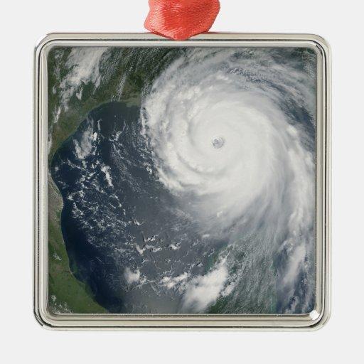 Huracán Katrina 2 Adorno Navideño Cuadrado De Metal