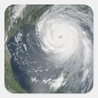 Huracán Katrina 2 Pegatina Cuadrada
