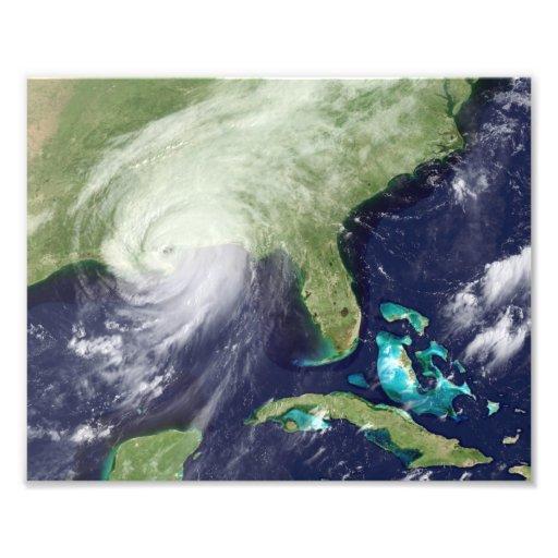 Huracán Katrina sobre New Orleans Cojinete
