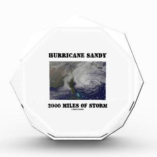 Huracán Sandy 2000 millas de tormenta