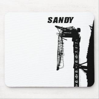 Huracán Sandy Alfombrilla De Raton