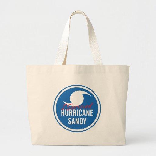 Huracán Sandy Bolsa Tela Grande
