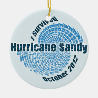 Huracán Sandy Adornos De Navidad