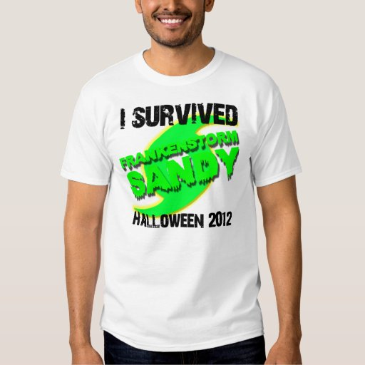 Huracán Sandy Frankenstorm Halloween 2012 Playera