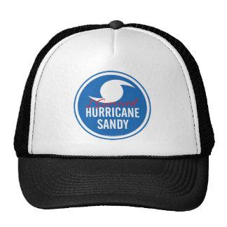 Huracán Sandy Gorras