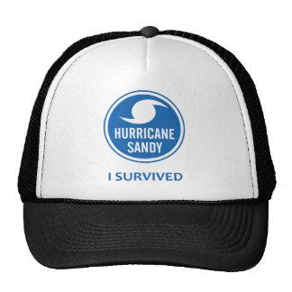 Huracán Sandy Gorros