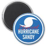 Huracán Sandy Iman Para Frigorífico