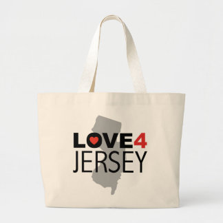 Huracán Sandy - jersey del amor 4 Bolsa De Mano