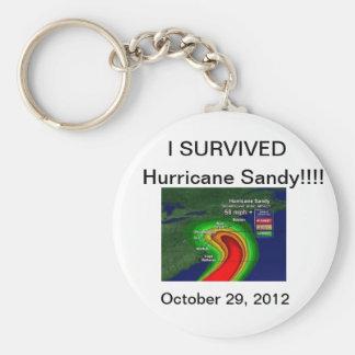 Huracán Sandy Llavero Personalizado