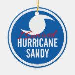 Huracán Sandy Ornamentos De Navidad