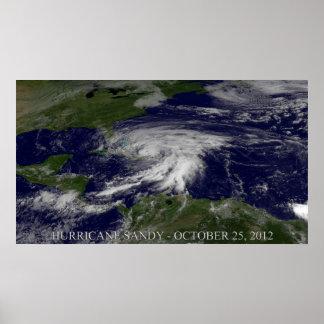 Huracán Sandy Posters