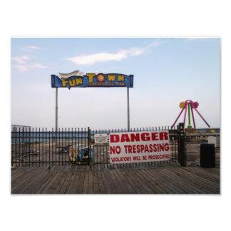 Huracán Sandy - playa New Jersey Fotografías