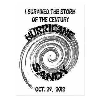 Huracán Sandy Postales
