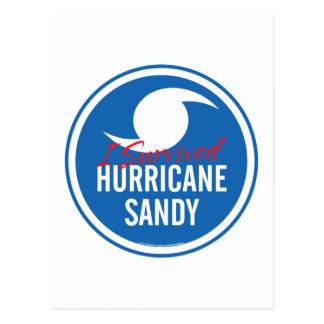 Huracán Sandy Tarjeta Postal