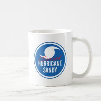 Huracán Sandy Tazas