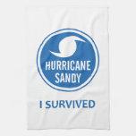 Huracán Sandy Toalla