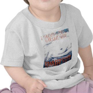 Huracán survied I Sandy Frankenstorm de Camisetas
