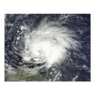 Huracán Tomas sobre las pocas Antillas Cojinete