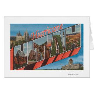 Huracán, Utah - escenas grandes de la letra Tarjeta De Felicitación