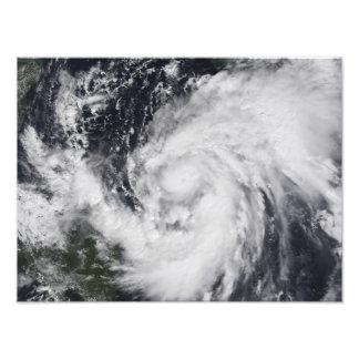 Huracán Wilma en el Atlántico y el Caribe Fotografía