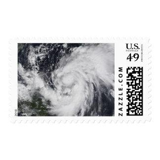 Huracán Wilma en el Atlántico y el Caribe Timbre Postal