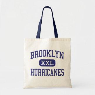 Huracanes Brooklyn media Ohio de Brooklyn Bolsa Lienzo