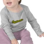 Huracanes en amarillo camisetas