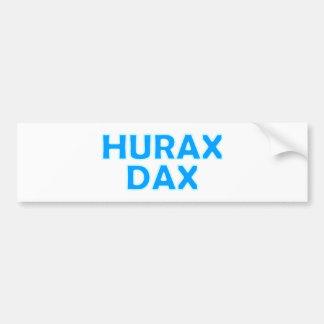 Hurax DAX Bavarian Bavarian Bavaria Bumper Sticker
