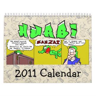 Hurbi 2011 Calendar