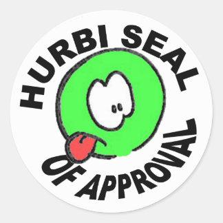 Hurbi Seal of Approval Sticker Sheet