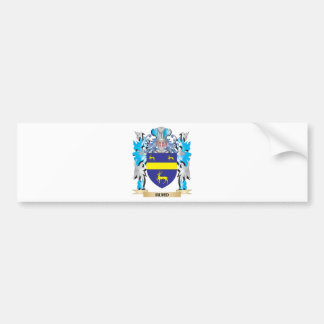 Hurd Coat of Arms - Family Crest Car Bumper Sticker