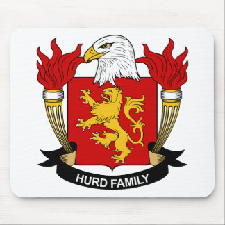 Hurd Family Crest Mouse Pad
