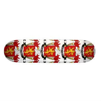 Hurd Family Crest Skate Board Deck