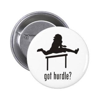 Hurdle Pinback Button