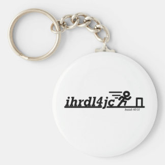 Hurdle For Jesus Keychain