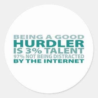 Hurdler 3% Talent Sticker