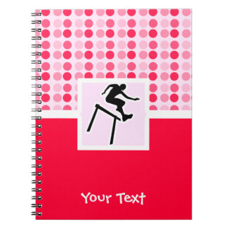 Hurdler lindo cuadernos