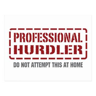 Hurdler profesional postales