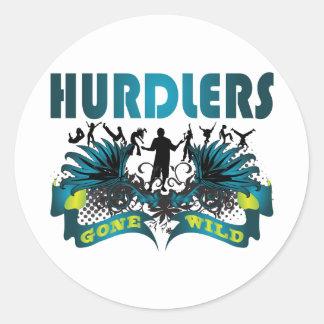 Hurdlers Gone Wild Sticker