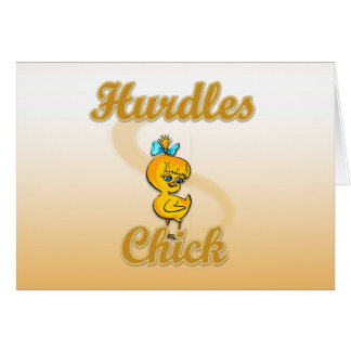 Hurdles Chick Card