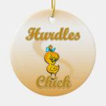 Hurdles Chick Ornament