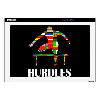 """Hurdles Decal For 17"""" Laptop"""